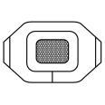 3M™ Tegaderm™ + Pad Transparentverband mit absorbtionsfähiger Wundauflage