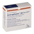 ACTRAPHANE 30 Penfill 100 I.E./ml