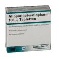 Allopurinol 100 ratiopharm Tabletten