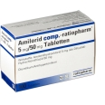 Amilorid comp. ratiopharm 5mg/50mg Tabletten