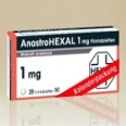 Anastrohexal 1 mg Filmtabletten