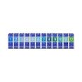 Biochemie Orthim Haus/Reiseapotheke 1-12 12 x 15g Globuli