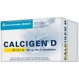 Calcigen® D Citro 600 mg / 400 I.E. Kautabletten