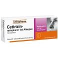 Cetirizin-ratiopharm® 10 mg bei Allergien Filmtabletten