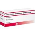 Clopidogrel Ratiopharm 75 mg Filmtabletten