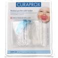 Curaprox® CMPH 201 Medizinischer Schnuller ab 7 Monate + Halter