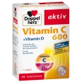 Doppelherz® aktiv Vitamin C + Vitamin D 600