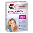 Doppelherz® system HYALURON + Q10 + Vitamin C+Zink + Biotin