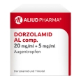DORZOLAMID AL comp.20mg/ml+5mg/ml