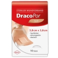 DracoPor Wundverband Soft hautfarben steril 3,8 x 3,8cm