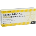 Eisentabletten AbZ 100 mg Filmtabletten