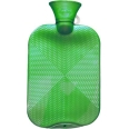fashy Wärmflasche Kristallstar-Dekor Hellgrün