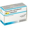 Fluoxetin ratiopharm 20 mg Tabletten