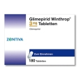 GLIMEPIRID Winthrop 3 mg