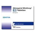 Glimepirid Winthrop 6 mg Tabletten