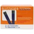 Gluco-test® Blutzuckerstreifen