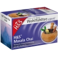H&S ergovit Masala Chai Schwarztee Nr. 64