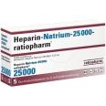 Heparin Natrium 25 000 ratiopharm