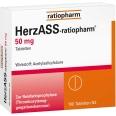 HerzASS-ratiopharm® 50 mg Tabletten