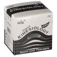 Kinesiologie Tape 5cm x 5m schwarz