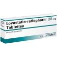 Lovastatin ratiopharm 20 mg Tabl.