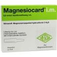 Magnesiocard i.m. Ampullen