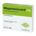 Magnesiocard i.v. Ampullen