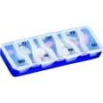 Medi-7 uno Blau Medikamenten Dosierer für 7 Tage
