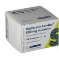 Metformin Sandoz 850 mg Filmtabletten