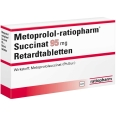 Metoprolol ratiopharm SU 95 mg Retardtabletten