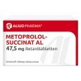 Metoprololsuccinat AL 47,5 mg Retardtabletten
