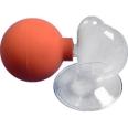 Milchpumpe Glas + großer Ball