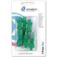 miradent I-Prox® chx Interdentalbürsten grün medium 0,8 - 3,5 mm