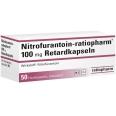 NITROFURANTOIN ratiopharm 100 mg