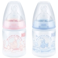 NUK® First Choice Plus Baby Rose & Blue mit Trinksauger 150 ml