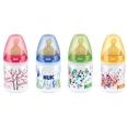 NUK® First Choice Polypropylen-Flasche mit Latex-Ventilsauger mit Trinksauger 150 ml