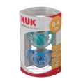 NUK® Genius Color Schnuller blau/grün (0-6 Monate)