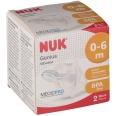 NUK® Genius Schnuller Größe 2 (0-6 Monate)