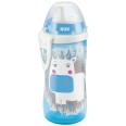NUK® Kiddy Cup 300 ml blau Kuh