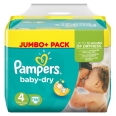 Pampers® Baby Dry 4 Maxi 7-18 kg