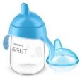 Philips® AVENT Becher mit Trinkschnabel blau 340 ml