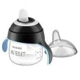 Philips® AVENT Becher mit Trinkschnabel schwarz 200 ml