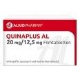 QUINAPLUS AL 20 mg/12,5 mg