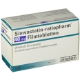 Simvastatin Ratiopharm 40 mg Filmtabl.