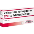 VALSARTAN ratiopharm 320 mg Filmtabletten