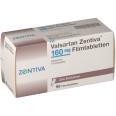 VALSARTAN Zentiva 160 mg Filmtabletten