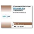 VALSARTAN Zentiva comp.160 mg/12,5 mg Filmtabl.
