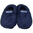 Warmies® Slippies™ Klassik Wärme Pantoffel dunkelblau Gr. L (41-45)