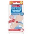 WUNDmed® Elastik-Bandage 10 cm x 3 m mit Bandageklammern