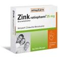 Zink-ratiopharm® 25 mg Brausetabletten
